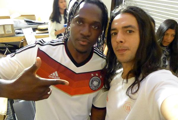Pusha T at adidas Skate Copa Berrics