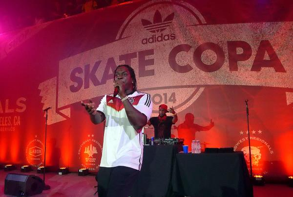 Pusha T Performs at adidas Skate Copa Berrics