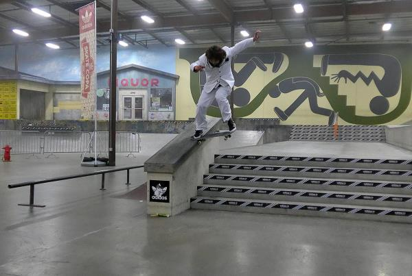 Body Fancy Noseslide at adidas Skate Copa Berrics