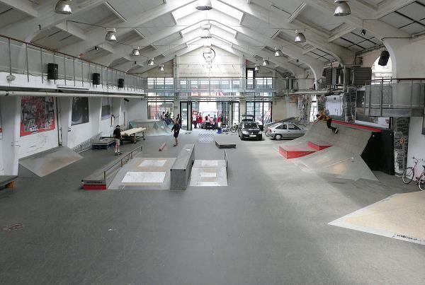 Copenhagen Skatepark Outside of CPH Pro