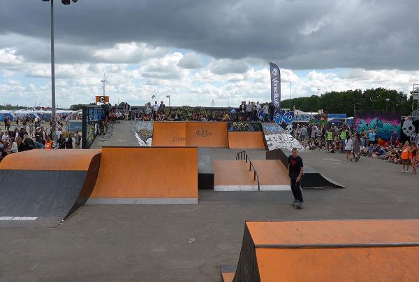 Copenhagen Skatepark at Roskilde