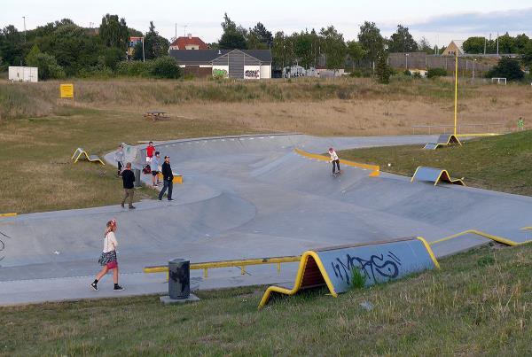 Copenhagen Ditch Skatepark View