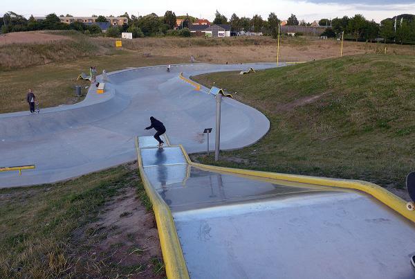 Copenhagen Ditch Skatepark Drop In