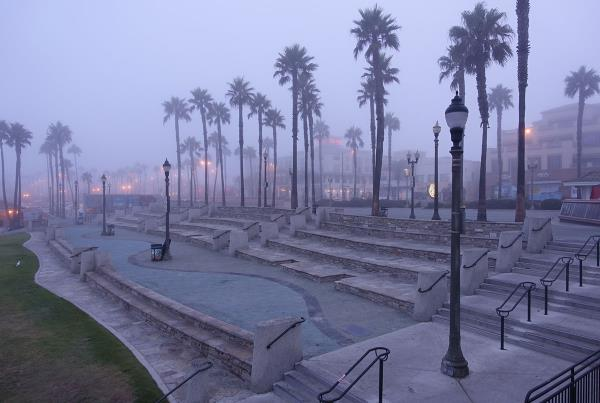 Early Morning at Huntington Beach
