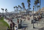 The Scene at Huntington Beach