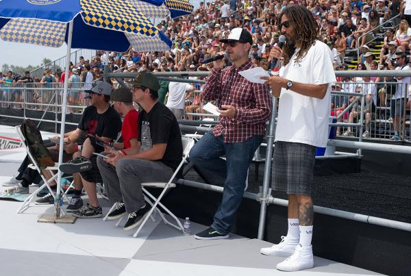 Announcers at Van Doren Invitational