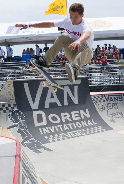 Elijah's Brother Evan Berle at Van Doren Invitational