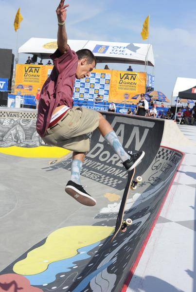 Alex Brunelle Bigspin Disaster at Van Doren Invitational