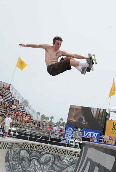 Chris Russell Frontside Air Van Doren Invitational