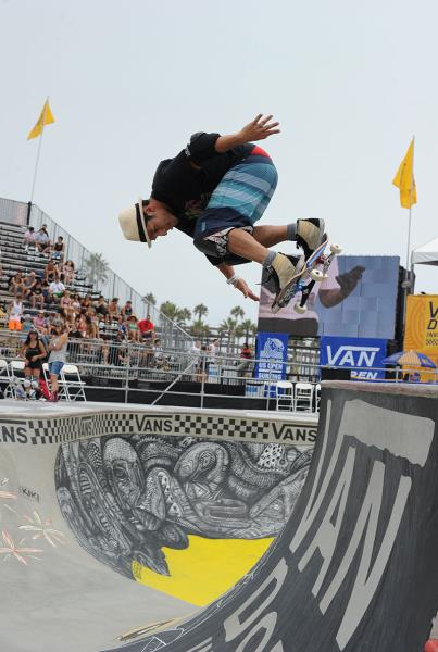 Christian Hosoi Backside Ollie at Van Doren Invitational