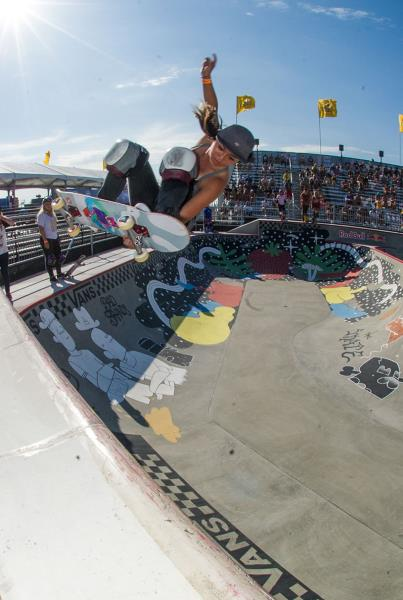 Allysha Bergado at Van Doren Invitational