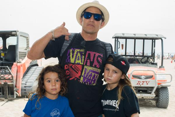 Christian and Kids at Van Doren Invitational