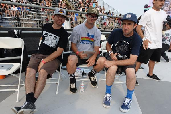 Jason Rothmeyer and Mike Burnett at Van Doren Invitational