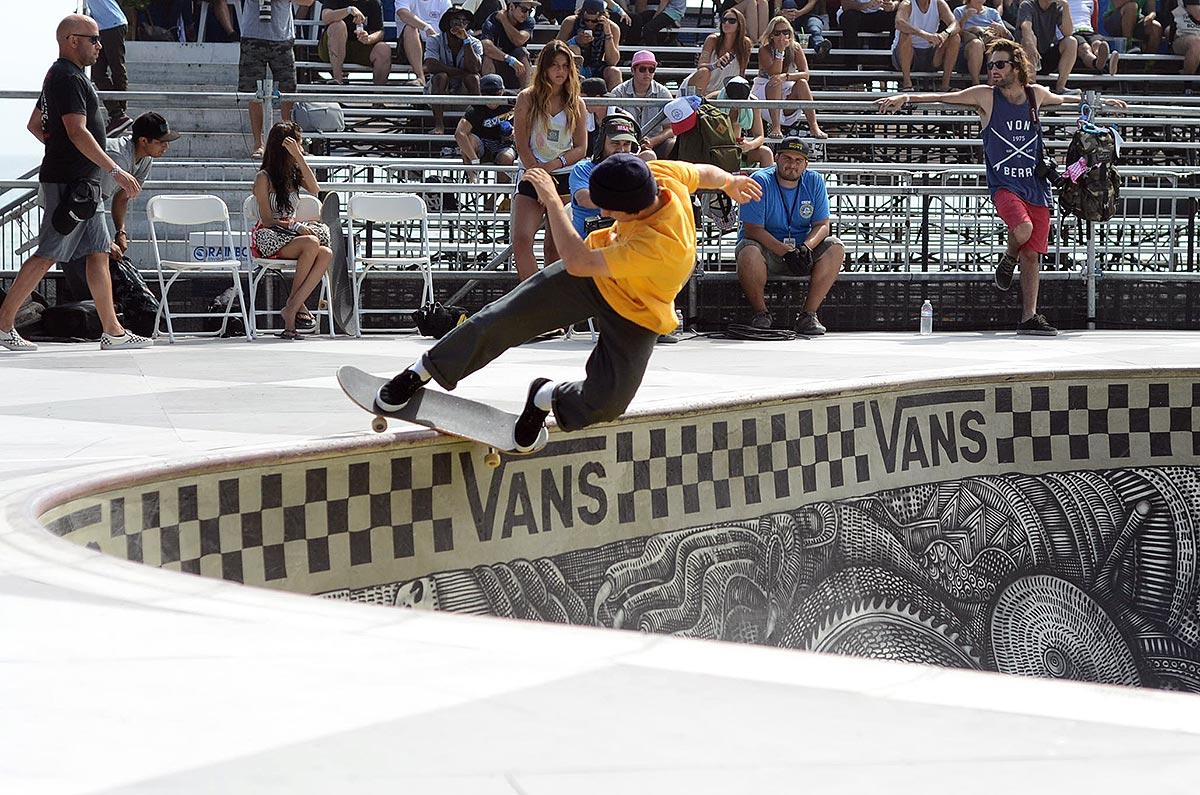 Ronnie Sandoval Feeble at Van Doren Invitational Huntington Beach