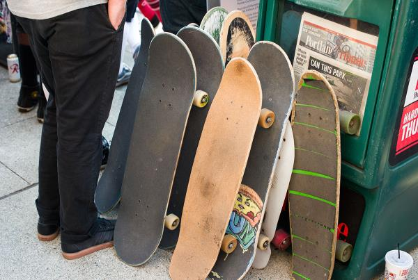 Different Types of Skateboarders at Dew Tour
