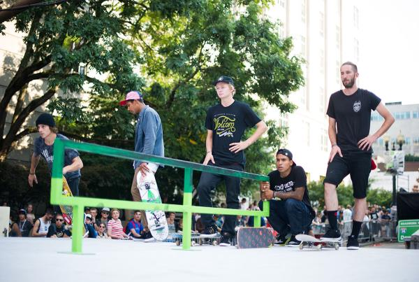 Nick Merlino, Boo Johnson at Dew Tour Portland