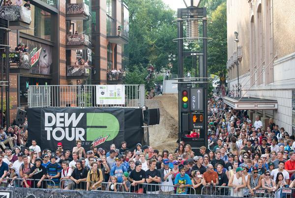 Dew Tour BMX Dirt Jumps