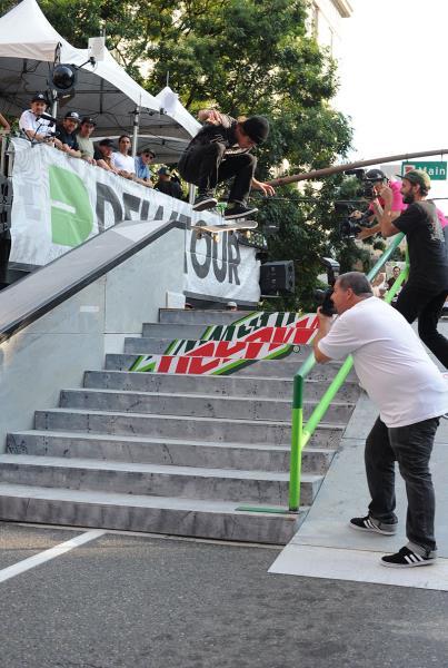 Nick Merlino Switch Flip at Dew Tour Portland