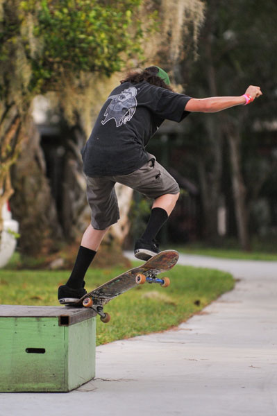 Alejandro Burnell Krooked Grind in the Dream Driveway
