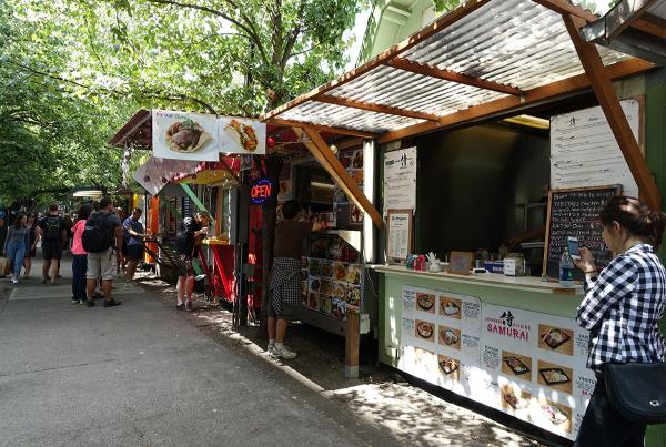 Food Trucks Downtown at Dew Tour Portland