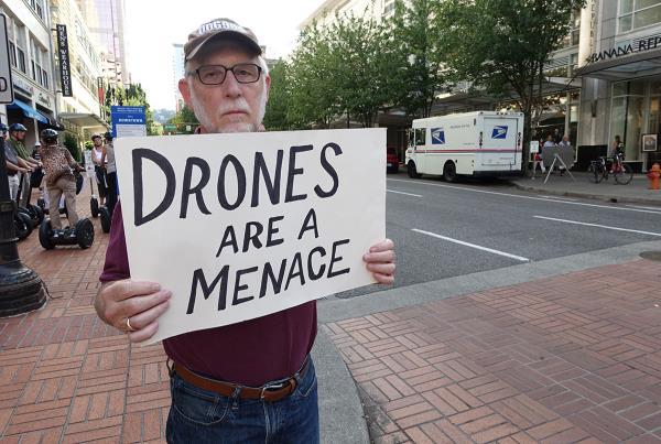 Drones are a Menace at Dew Tour Portland