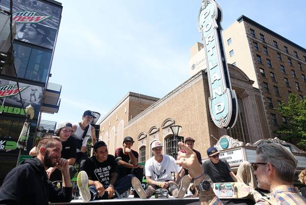 Skaters' Meeting at Dew Tour Portland