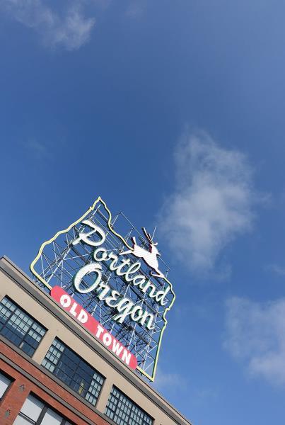 Portland Sign at Dew Tour Portland