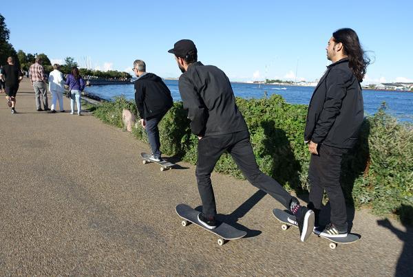 Tampa Kits on Tour in Copenhagen