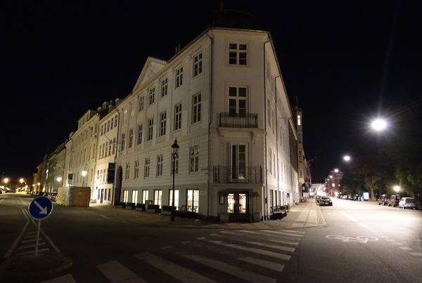 Street Corner in Copenhagen