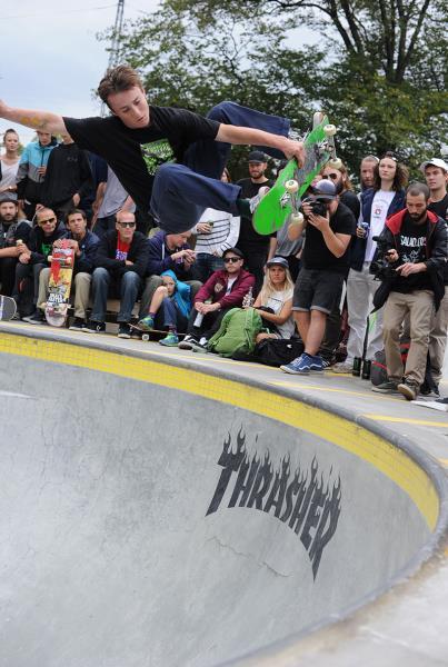 Chris Russell Frontside Air Revert in Copenhagen