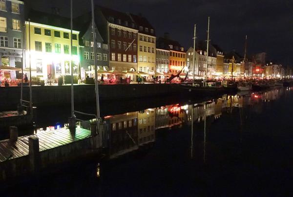 Nighttime Tourist Walks in Copenhagen