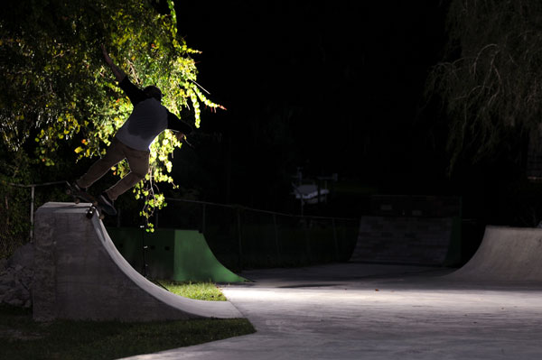 Ryan Clements Feeble Grind Fakie in the Dream Driveway