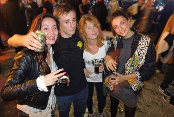 Chris Russell and Ladies at Copenhagen Bowl