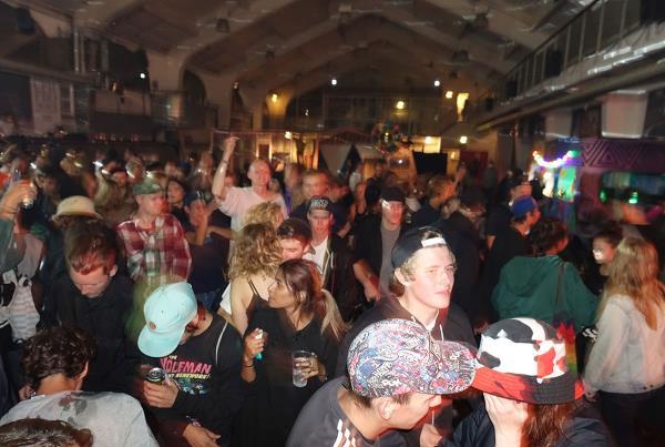 Party Scene Overview at Copenhagen Bowl