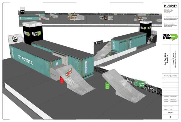 Dew Tour Brooklyn 2014 Course 2 of 11
