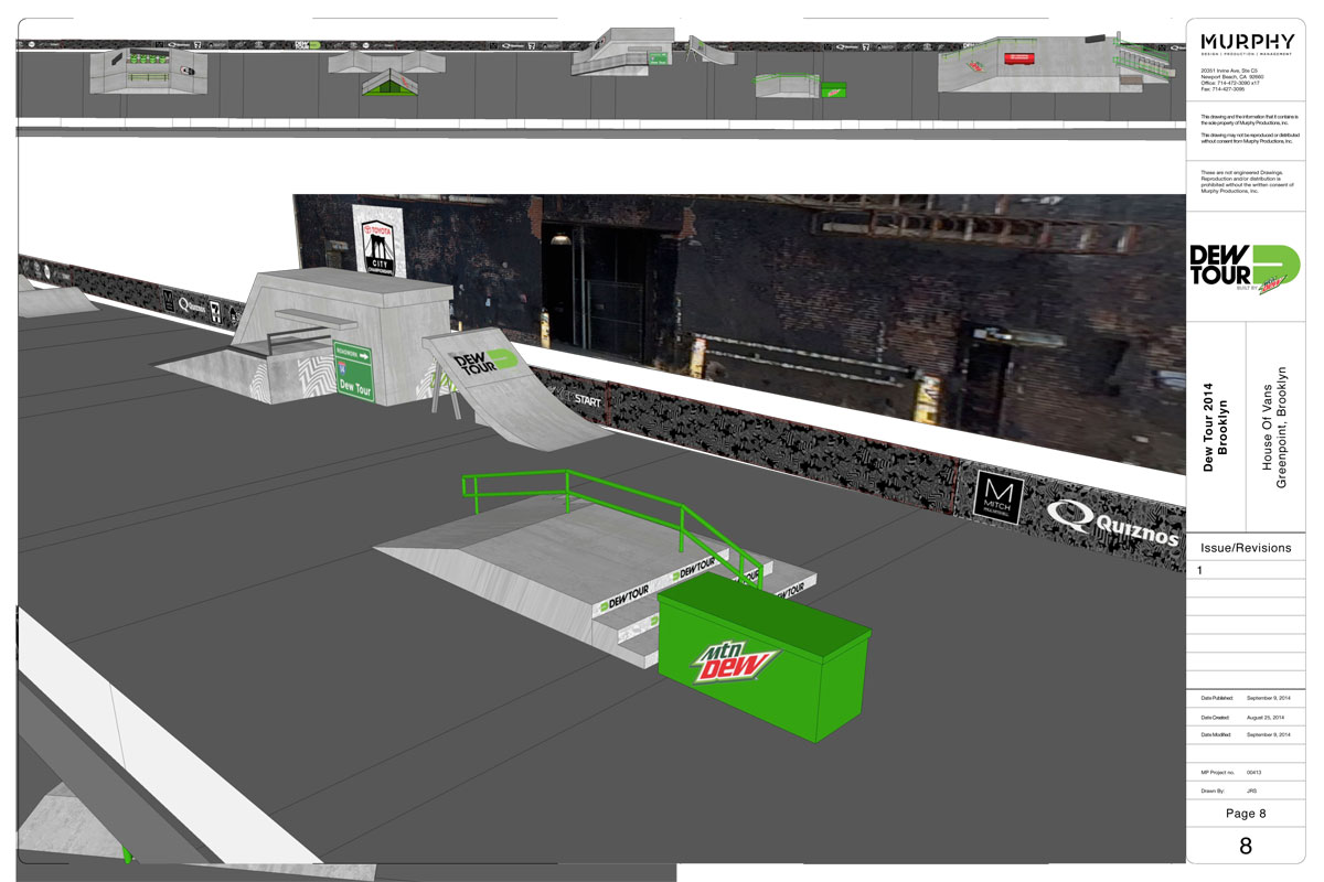 Dew Tour Brooklyn 2014 Course 9 of 11