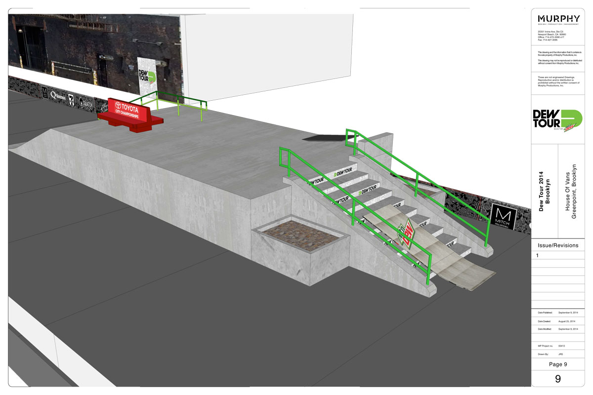 Dew Tour Brooklyn 2014 Course 10 of 11