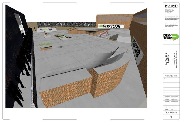 Dew Tour Brooklyn 2014 Street Course 1 of 4