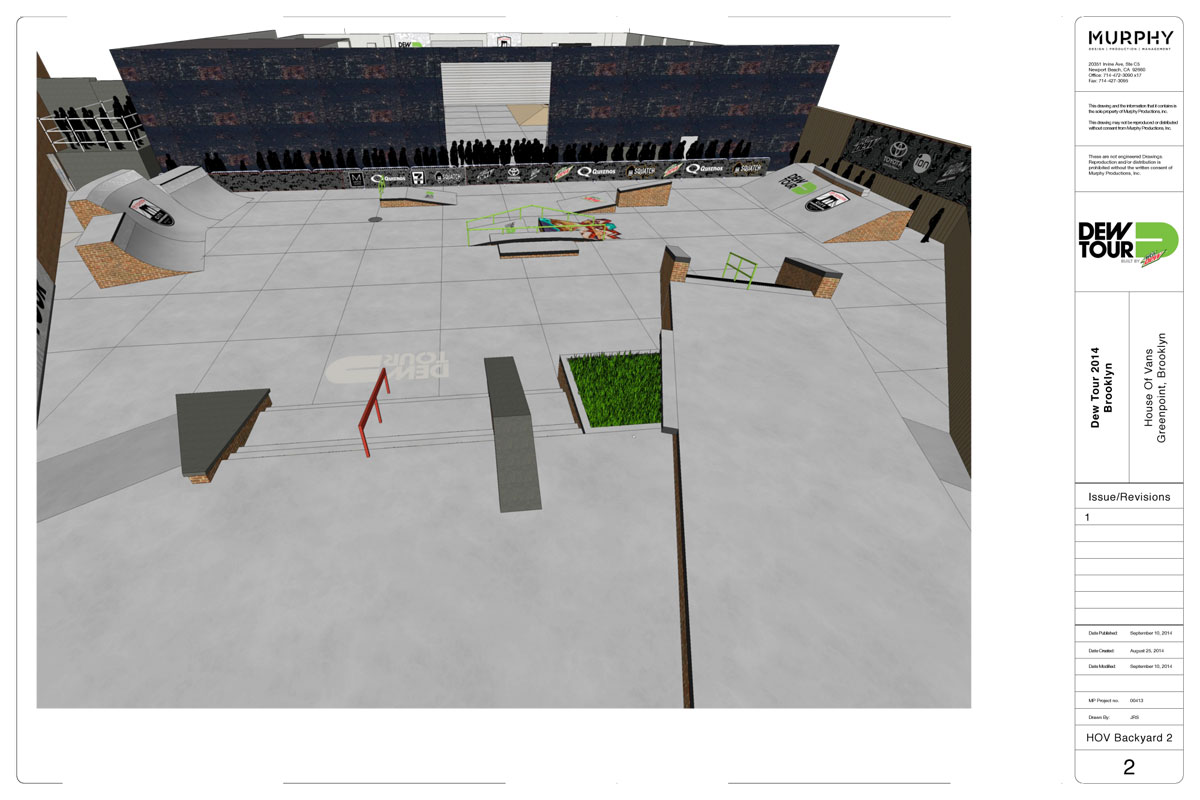 Dew Tour Brooklyn 2014 Street Course 2 of 4