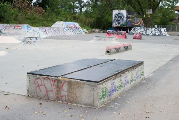 P45 at La Taz in Montreal Ledges
