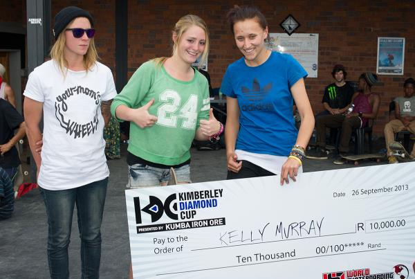 Kelly Murray Wins Girls Contest