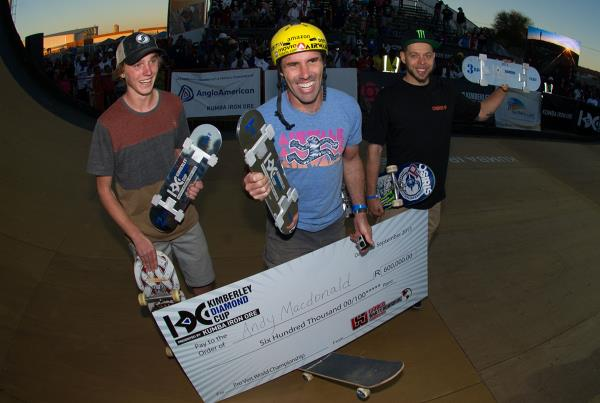 Andy MacDonald Wins Kimberley Diamond Cup Vert/Big Air Overall