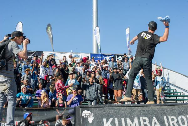 Matt Berger at Kimberley Diamond Cup