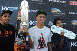 Congrats Nyjah on a one million Rand payday.