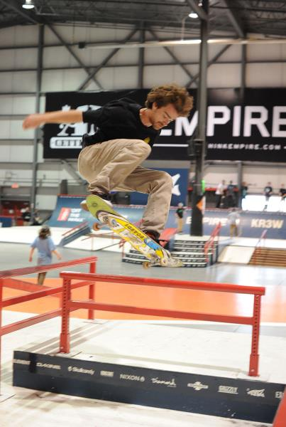 Antoine Asselin Frontside 360 at Am Getting Paid