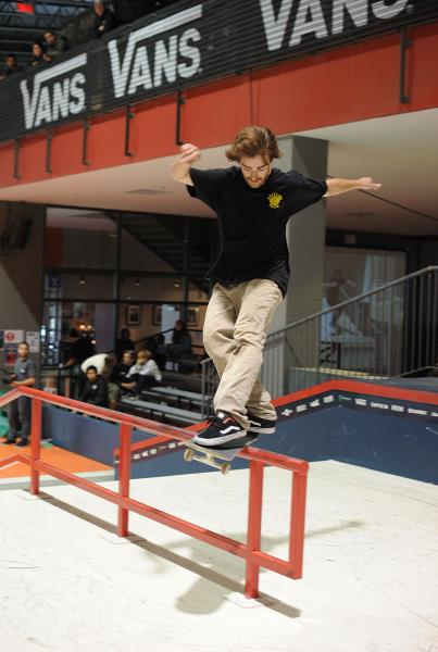 Antoine Asselin Frontside Feeble Frontside 180 at Am Getting Paid