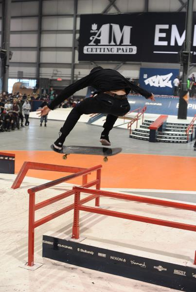 Bobby De Keyzer Backside Flip at Am Getting Paid