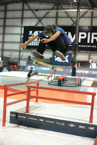 Jon Cosentino Frontside Flip at Am Getting Paid