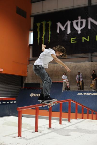Jackson Davis Front Feeble Backside 180 at Am Getting Paid