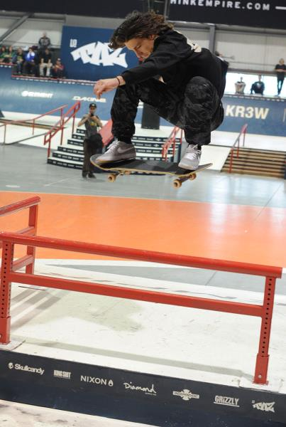 Jereme Knibbs Fakie Shifty at Am Getting Paid